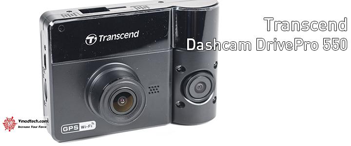 main Transcend Dashcams DrivePro 550 Review