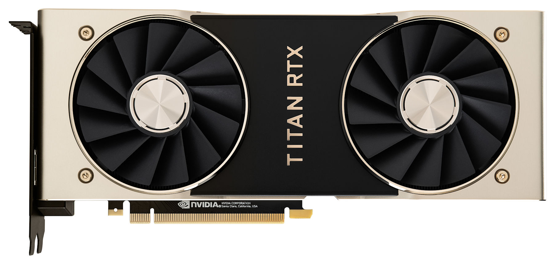 nvidia titan rtx front NVIDIA เปิดตัว NVIDIA TITAN RTX ยักษ์ใหญ่ในสถาปัตย์ Turing ตัวแรงรุ่นใหม่ล่าสุด