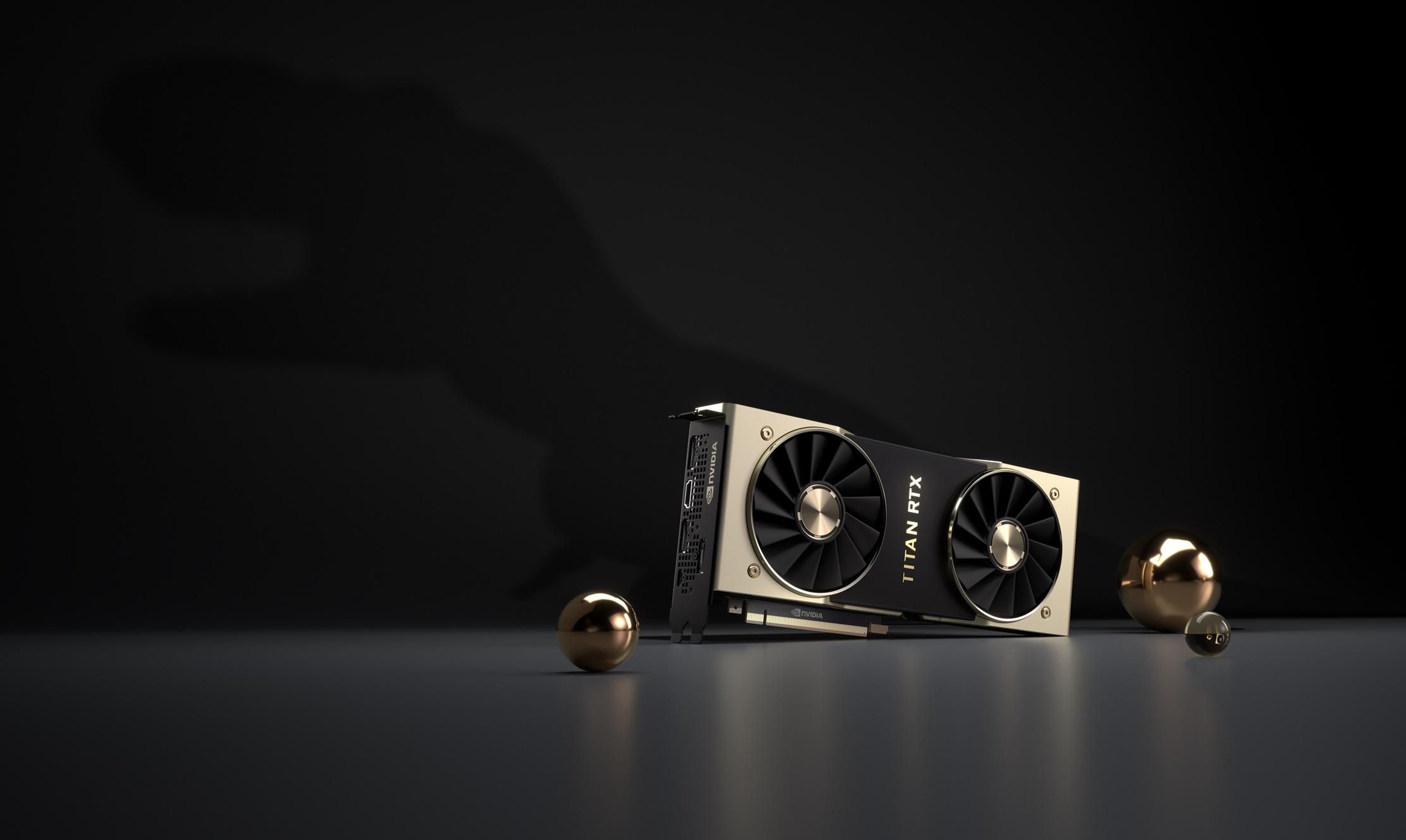 titan rtx t rex NVIDIA เปิดตัว NVIDIA TITAN RTX ยักษ์ใหญ่ในสถาปัตย์ Turing ตัวแรงรุ่นใหม่ล่าสุด