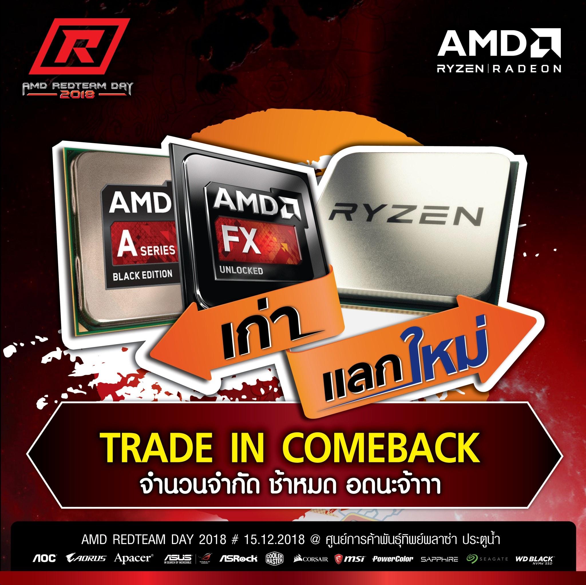 AMD TRADE IN COMEBACK