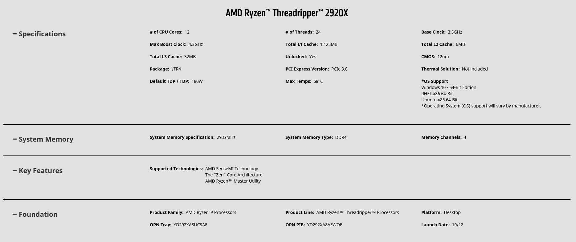 2018 12 11 11 07 14 AMD RYZEN THREADRIPPER 2920X PROCESSOR REVIEW