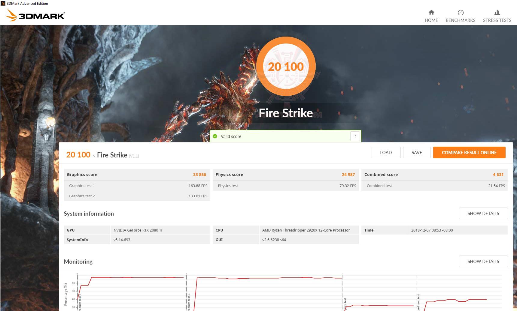 fire AMD RYZEN THREADRIPPER 2920X PROCESSOR REVIEW