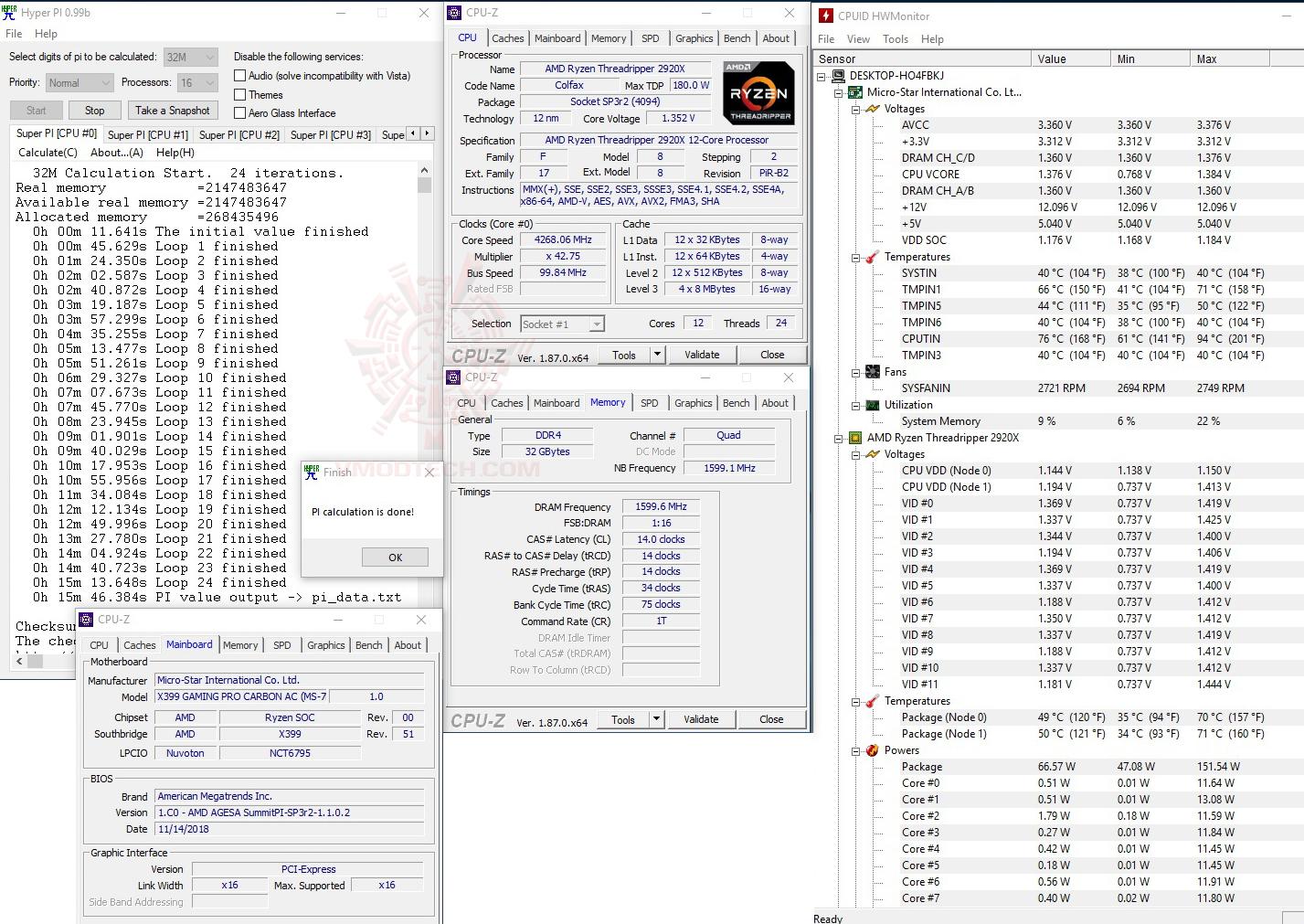 h32 2 AMD RYZEN THREADRIPPER 2920X PROCESSOR REVIEW