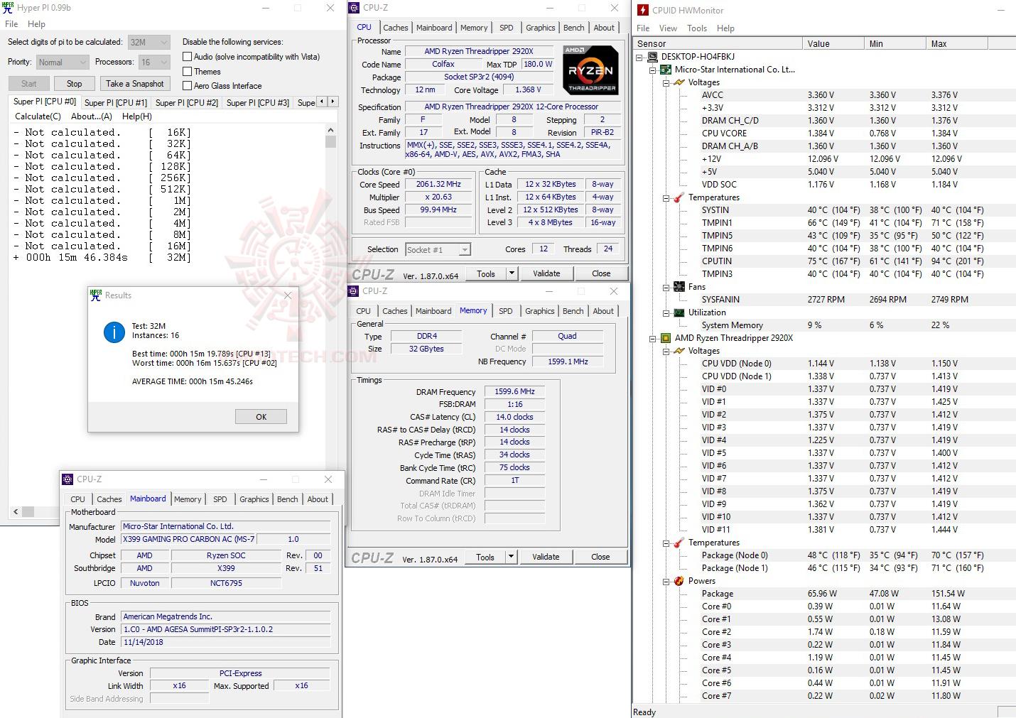 h32 AMD RYZEN THREADRIPPER 2920X PROCESSOR REVIEW