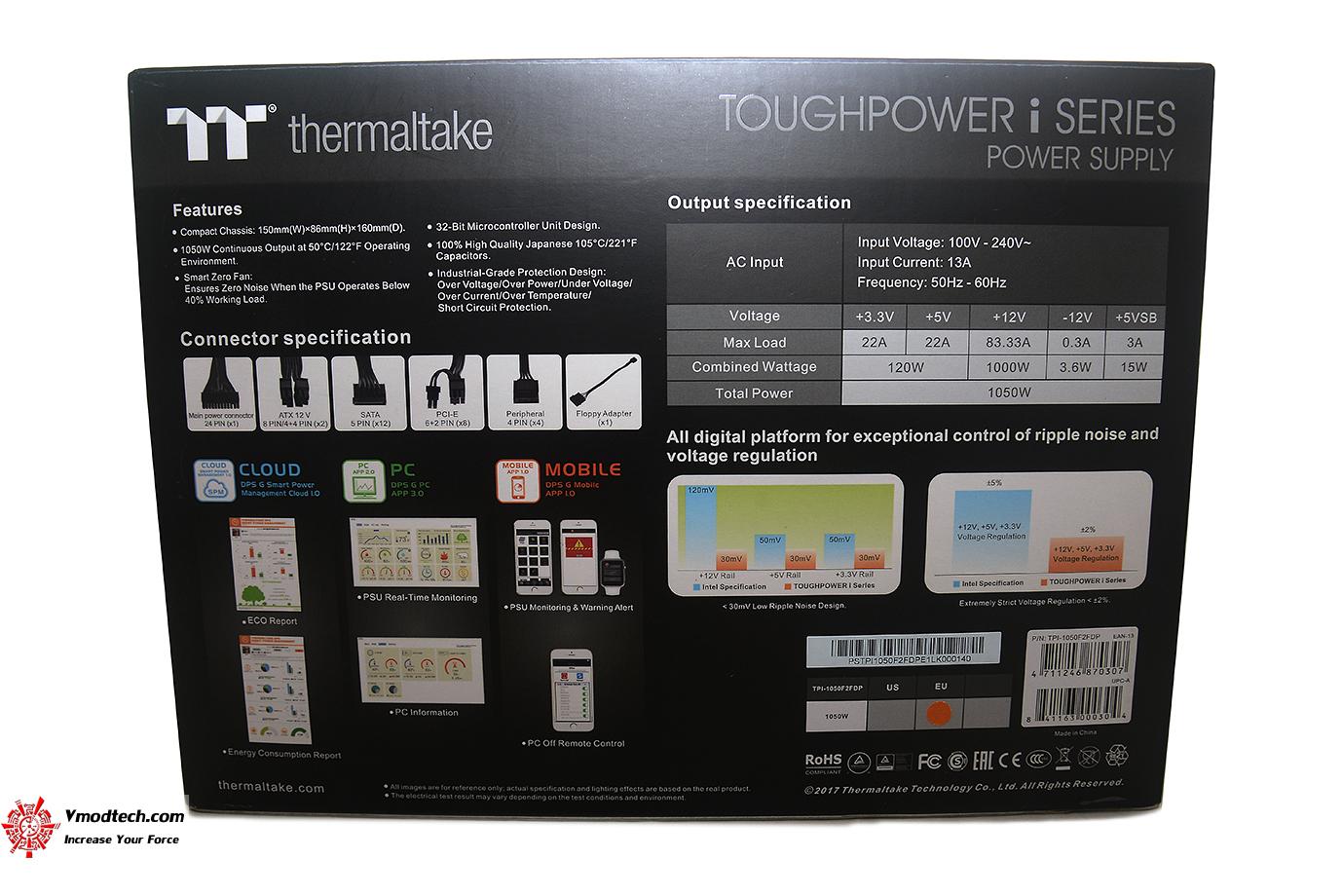 dsc 1448 Thermaltake Toughpower iRGB PLUS 1050W Platinum Review