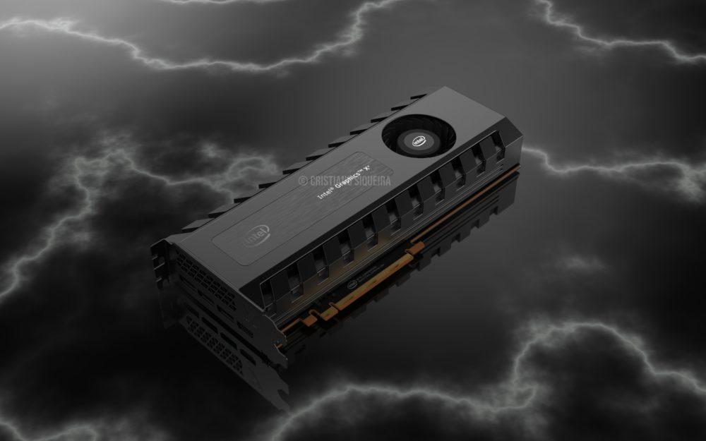 intel xe graphics cristiano siqueria 1 1000x625 เผยรูปการ์ดจอ Intel Xe ที่แฟนๆทำขึ้นกับการ์ดจอรุ่นแรกของทาง Intel