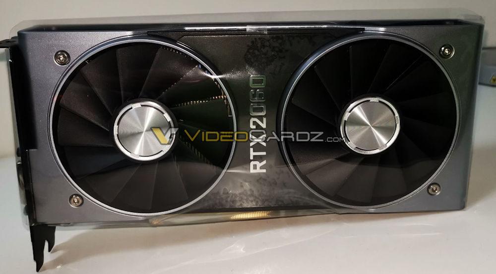 nvidia geforce rtx 2060 videocardz 1000x553 หลุดรูปภาพ NVIDIA GeForce RTX 2060 Founders Edition รุ่นใหม่ล่าสุดอย่างไม่เป็นทางการ