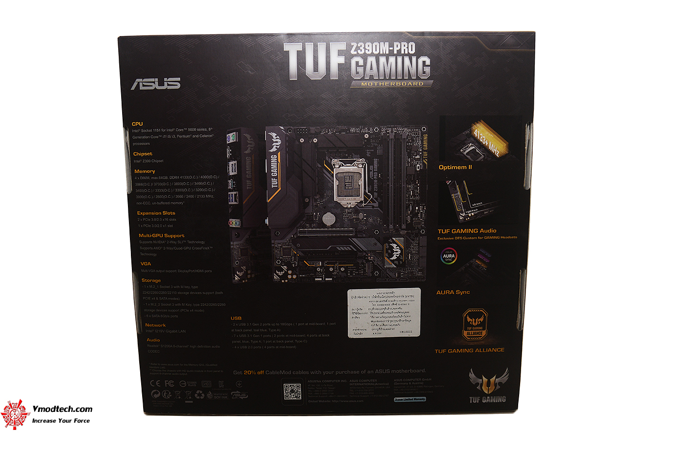 dsc 2260 ASUS TUF Z390M PRO GAMING REVIEW
