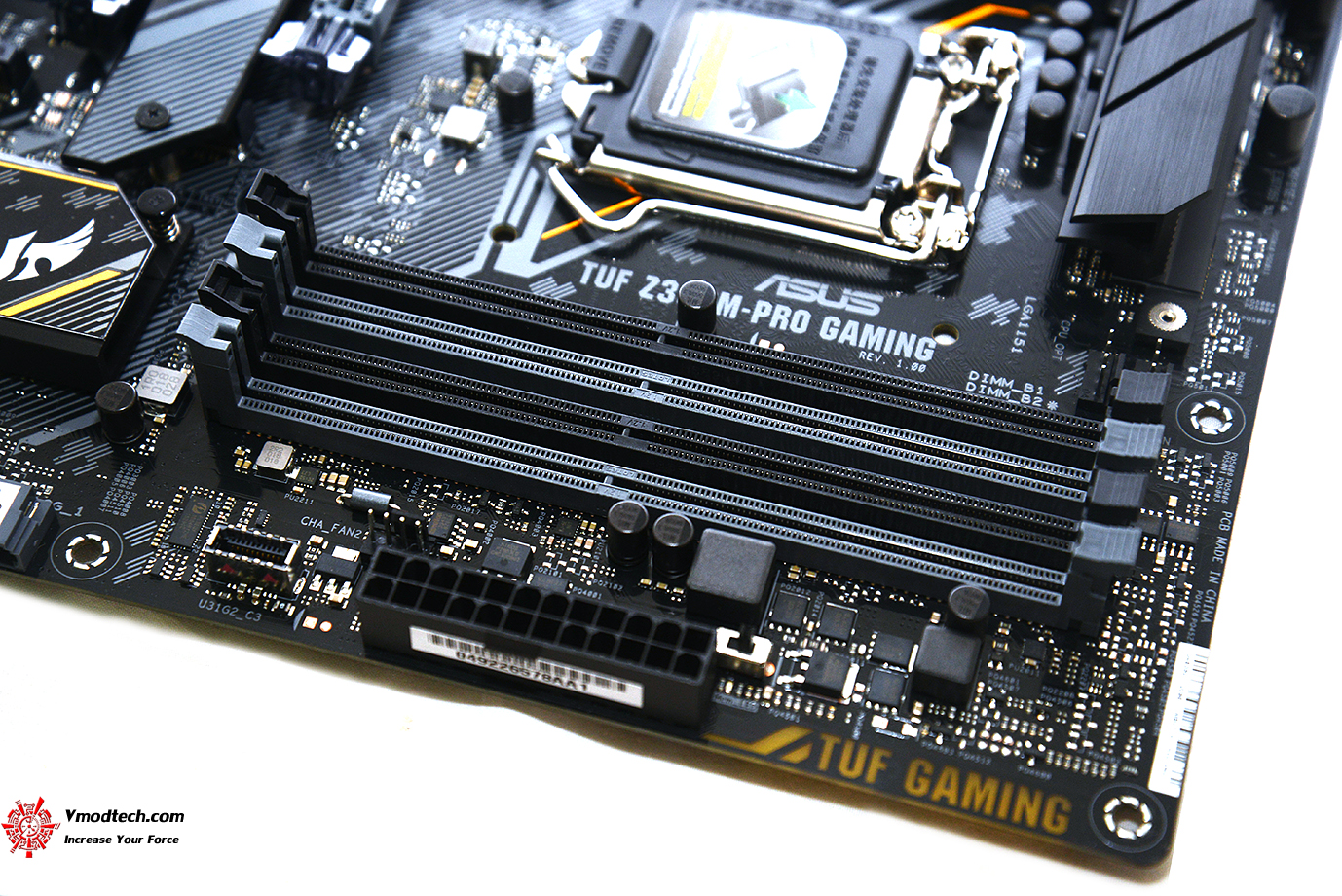 dsc 2303 ASUS TUF Z390M PRO GAMING REVIEW
