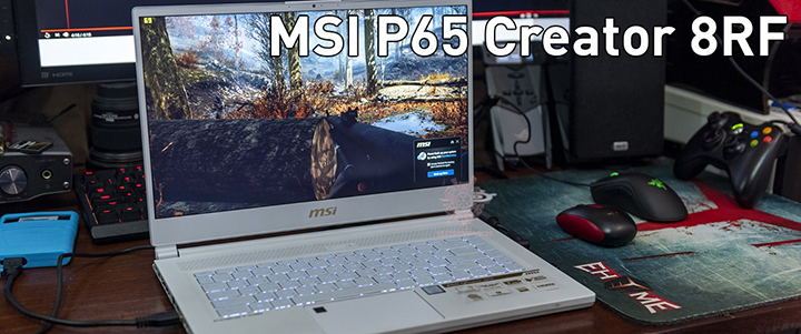 main1 MSI P65 Creator 8RF Limited Edition Review