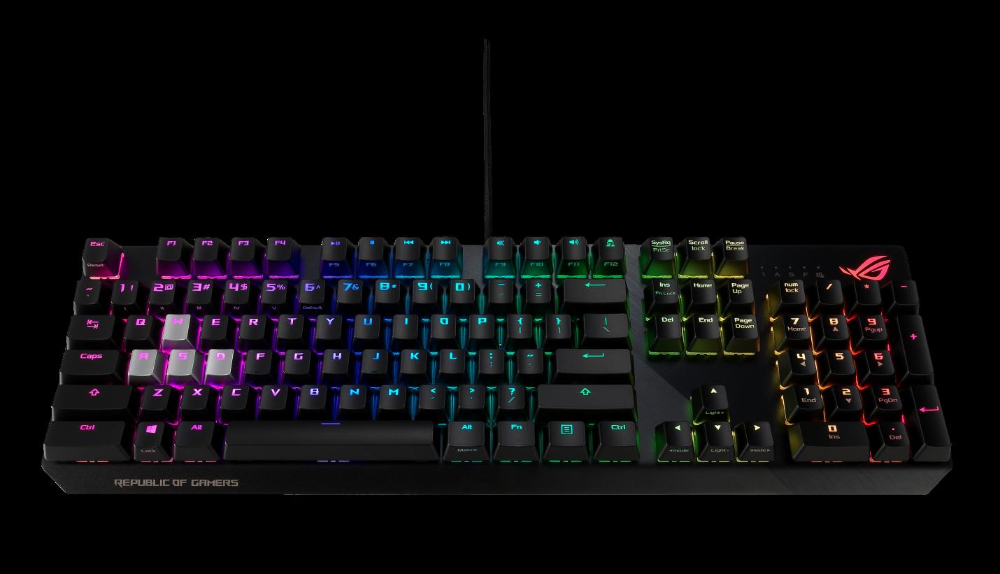 ASUS ประกาศเปิดตัว TUF Gaming K7, ROG Strix CTRL Gaming Keyboards และ ROG Gaming Keycap Set เพื่อเหล่าเกมเมอร์โดยเฉพาะ