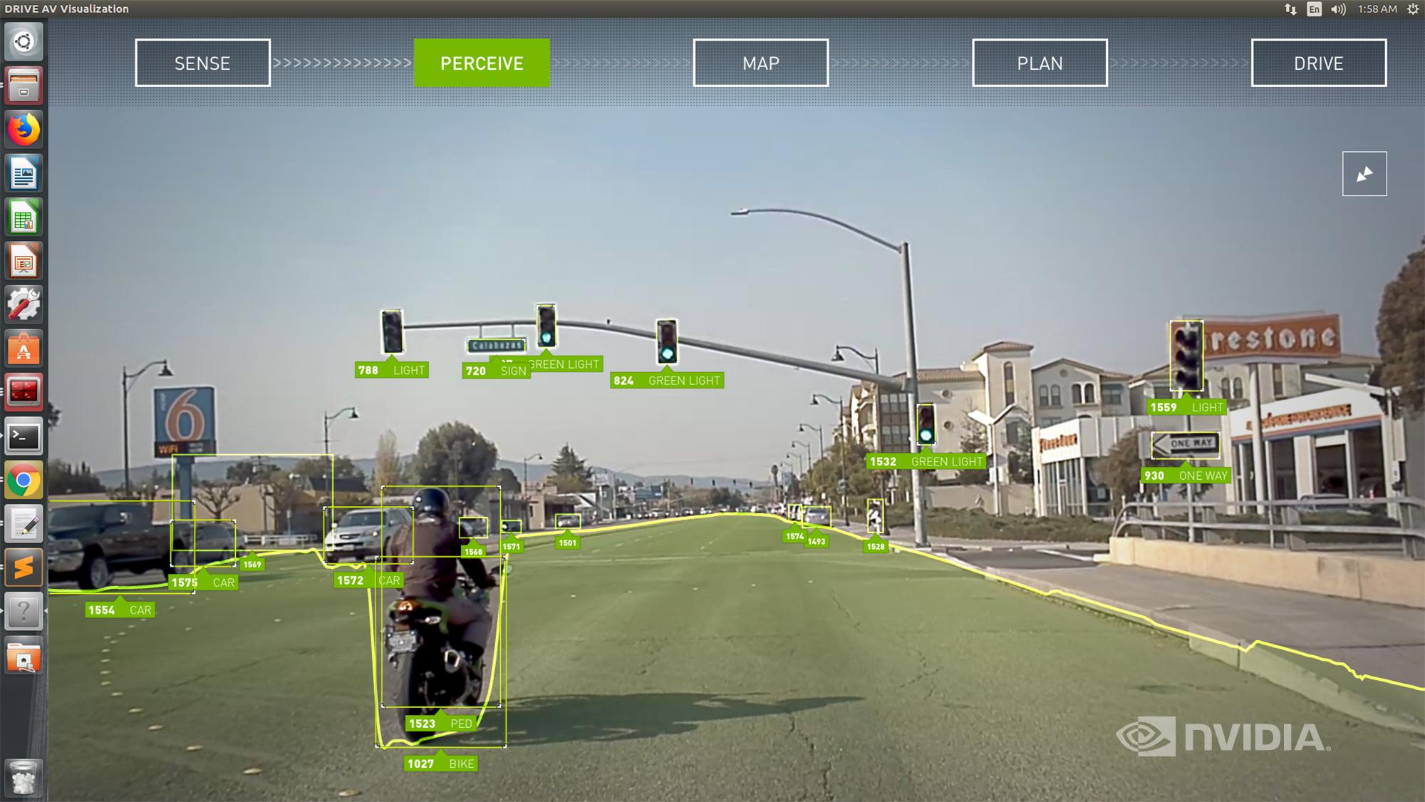 nvidia drive software 8 NVIDIA ประกาศเปิดตัวระบบขับขี่อัตโนมัติที่ควบคุมได้ดียิ่งขึ้นในระดับที่2 Level2+ ซึ่งเป็นระบบแรกของโลกที่ใช้ระบบ NVIDIA DRIVE AutoPilot ซึ่งรวมเทคโนโลยี AI ที่ล้ำสมัยหลายอย่างเข้าด้วยกันพร้อมใช้งานปีหน้า 2020