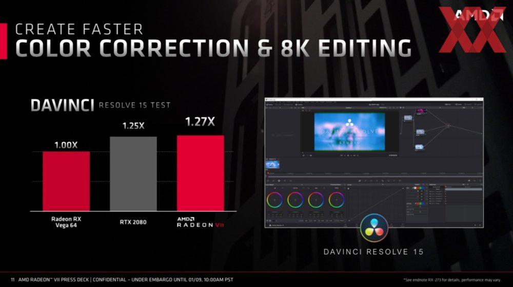 amd ces 2019 radeon vii 11 1000x561 ส่องข้อมูลรายละเอียด AMD Radeon Vega VII การ์ดจอเกมส์มิ่งขนาด 7nm รุ่นแรกของโลก