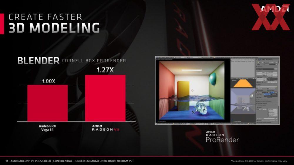 amd ces 2019 radeon vii 14 1000x561 ส่องข้อมูลรายละเอียด AMD Radeon Vega VII การ์ดจอเกมส์มิ่งขนาด 7nm รุ่นแรกของโลก