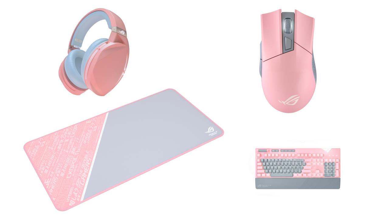 ASUS ROG เปิดตัวอุปกรณ์เกมมิ่งเกียร์สี limited-edition เพื่อเหล่าเกมเมอร์ที่ชอบโทนสีพาสเทล