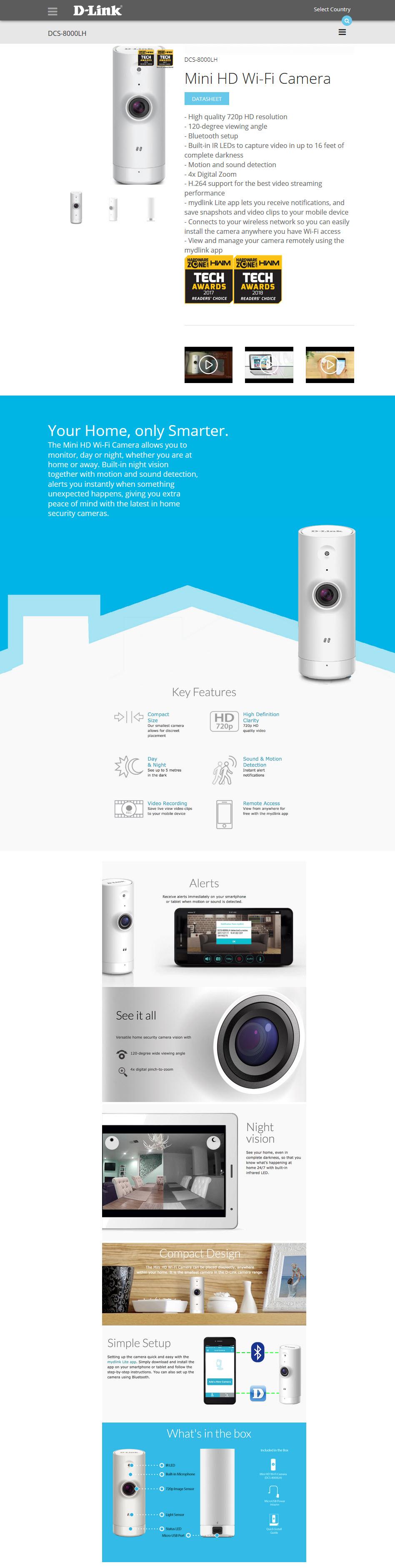 2019 01 21 20 51 41 D Link Mini HD Wi Fi Camera Review