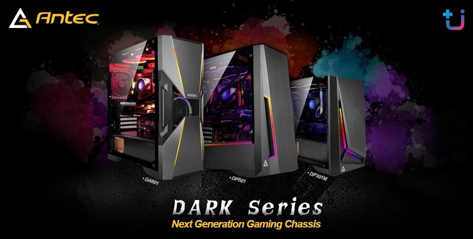 antec dark series บริษัท เอสเซนตี้ รีซอร์สเซส จำกัด ผู้นำเข้าและจัดจำหน่าย Antec ผู้นำด้าน Power supply . Case และ Cooling ยี่ห้อดังระดับโลก เข้าไทยแล้ว เคส Antec รุ่นใหม่ล่าสุด Antec Dark Series เคส ARGB ดีไซน์สุดเฉี่ยว ราคาสุดคุ้ม