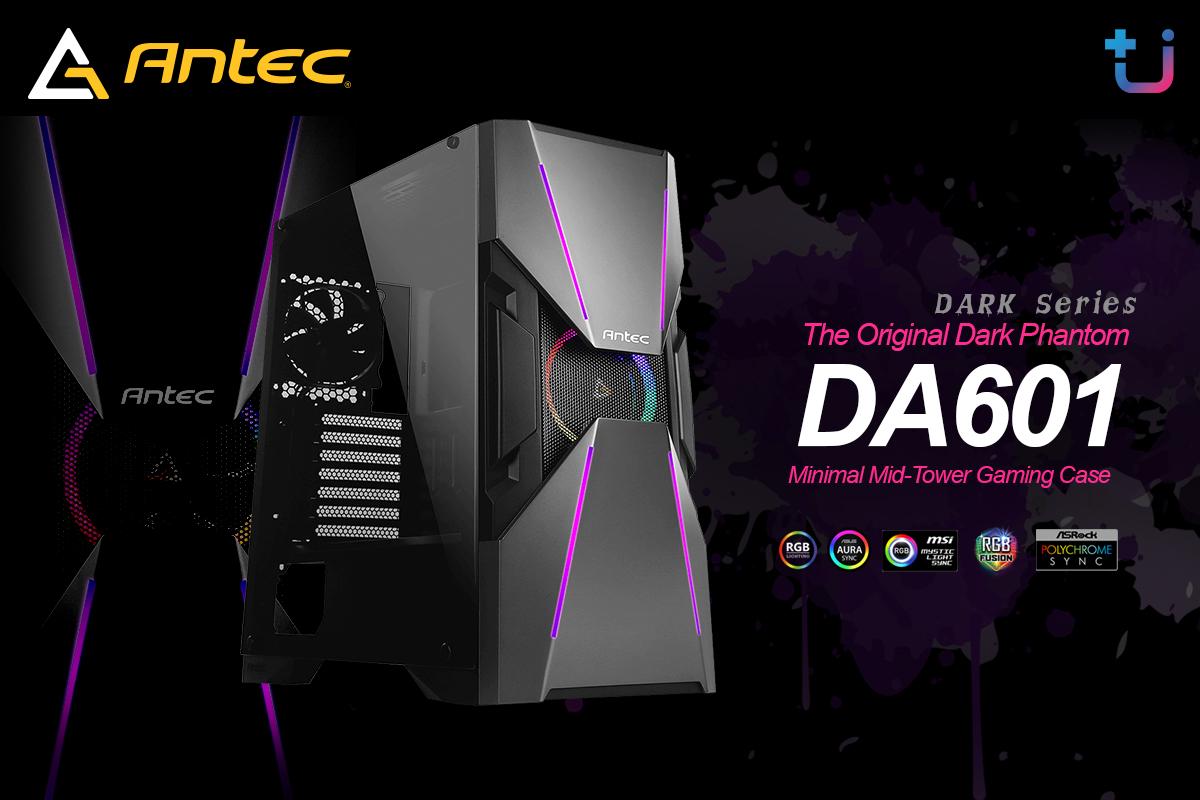 da601 บริษัท เอสเซนตี้ รีซอร์สเซส จำกัด ผู้นำเข้าและจัดจำหน่าย Antec ผู้นำด้าน Power supply . Case และ Cooling ยี่ห้อดังระดับโลก เข้าไทยแล้ว เคส Antec รุ่นใหม่ล่าสุด Antec Dark Series เคส ARGB ดีไซน์สุดเฉี่ยว ราคาสุดคุ้ม