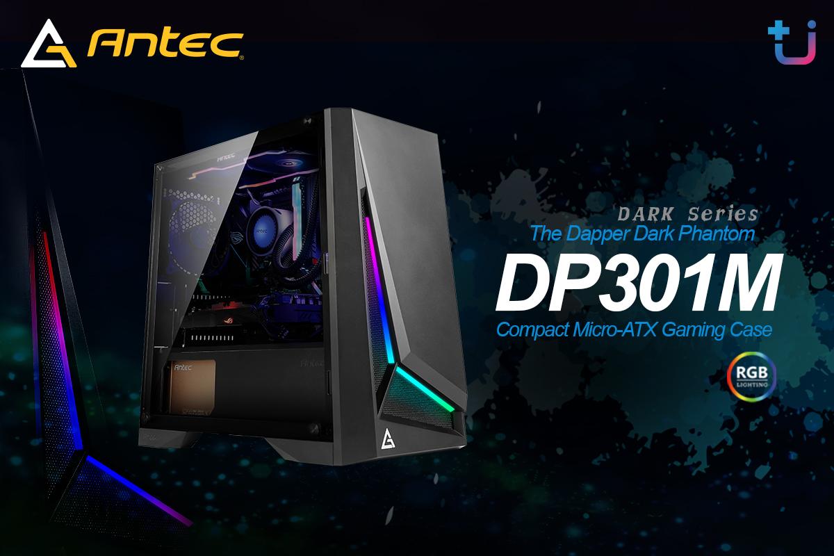 dp301m บริษัท เอสเซนตี้ รีซอร์สเซส จำกัด ผู้นำเข้าและจัดจำหน่าย Antec ผู้นำด้าน Power supply . Case และ Cooling ยี่ห้อดังระดับโลก เข้าไทยแล้ว เคส Antec รุ่นใหม่ล่าสุด Antec Dark Series เคส ARGB ดีไซน์สุดเฉี่ยว ราคาสุดคุ้ม
