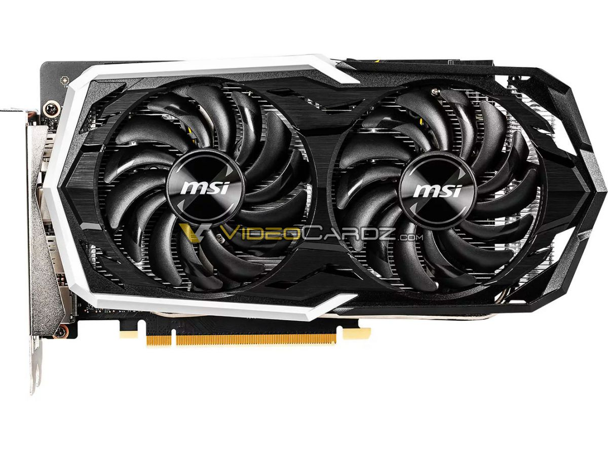 msi geforce gtx 1660 ti 5 ชมภาพ MSI GeForce GTX 1660 Ti GAMING X และ ARMOR OC รุ่นใหม่ล่าสุดที่ยังไม่เปิดตัวอย่างเป็นทางการ