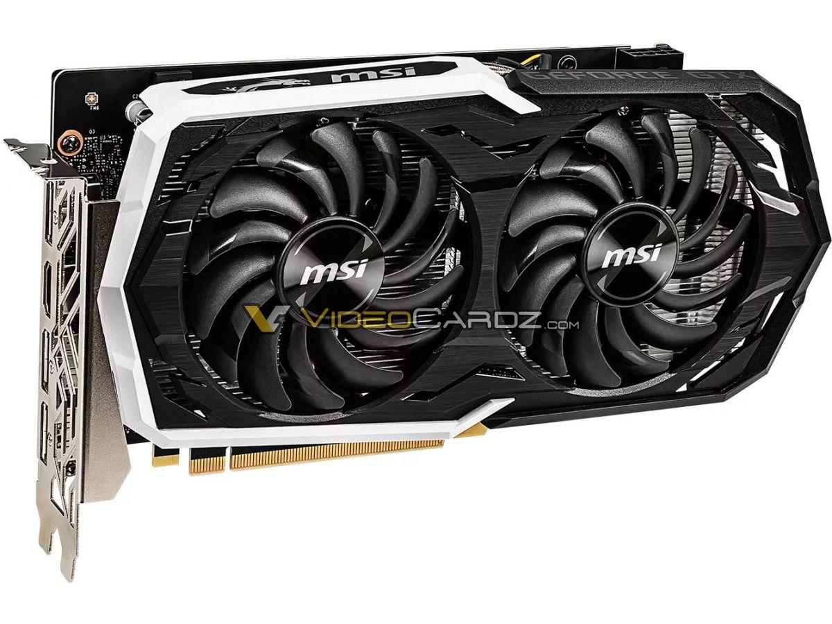 msi geforce gtx 1660 ti 6 ชมภาพ MSI GeForce GTX 1660 Ti GAMING X และ ARMOR OC รุ่นใหม่ล่าสุดที่ยังไม่เปิดตัวอย่างเป็นทางการ