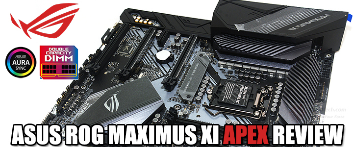 asus rog maximus xi apex review ASUS ROG MAXIMUS XI APEX REVIEW