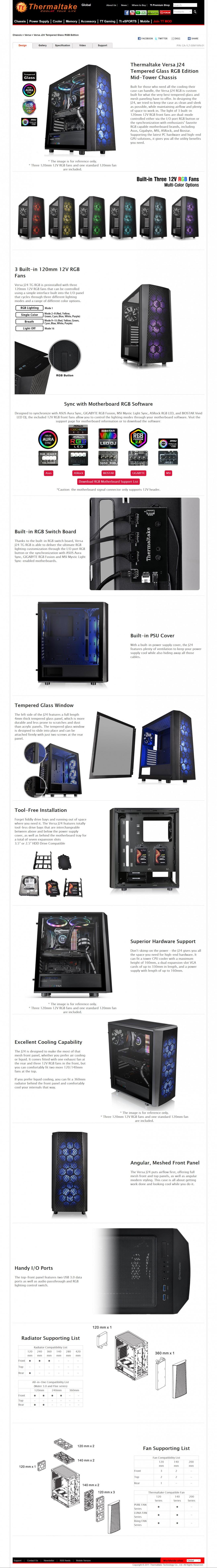 2019 03 05 20 20 42 Thermaltake Versa J24 Tempered Glass RGB Edition Preview