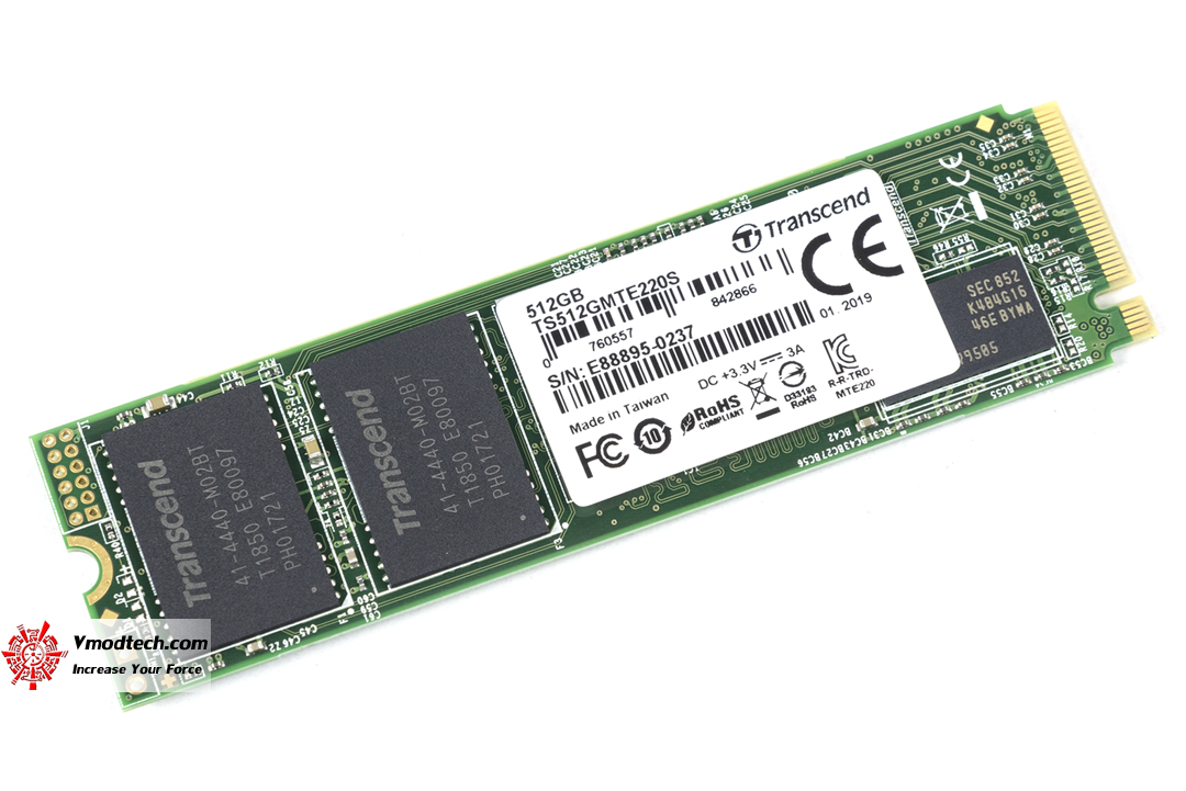 tpp 5119 Transcend PCIe SSD 220S 512GB Review