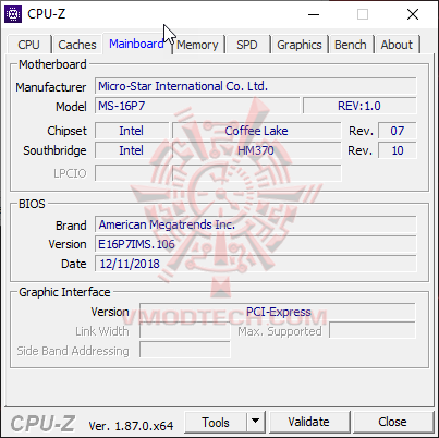 cpu3 MSI GL63 8SE with Nvidia RTX 2060 Review
