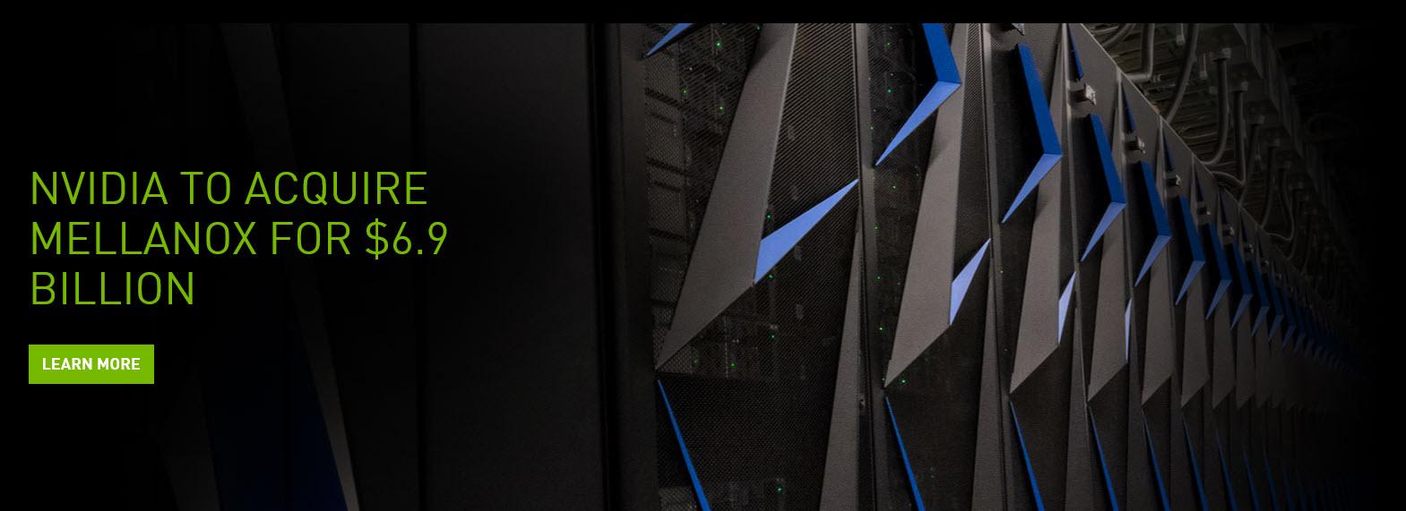 2019 03 13 7 37 38 NVIDIA ซื้อหุ้นทั้งหมดของ Mellanox รวมประมาณ 6.9 พันล้านเหรียญสหรัฐ