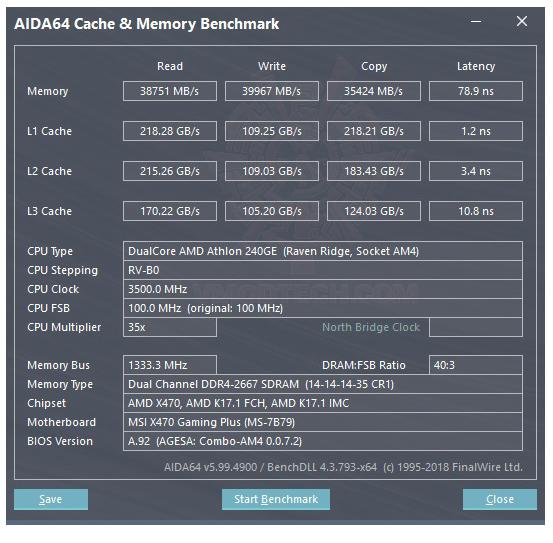 mem AMD Athlon 240GE Processor with Radeon Vega 3 Graphics Review