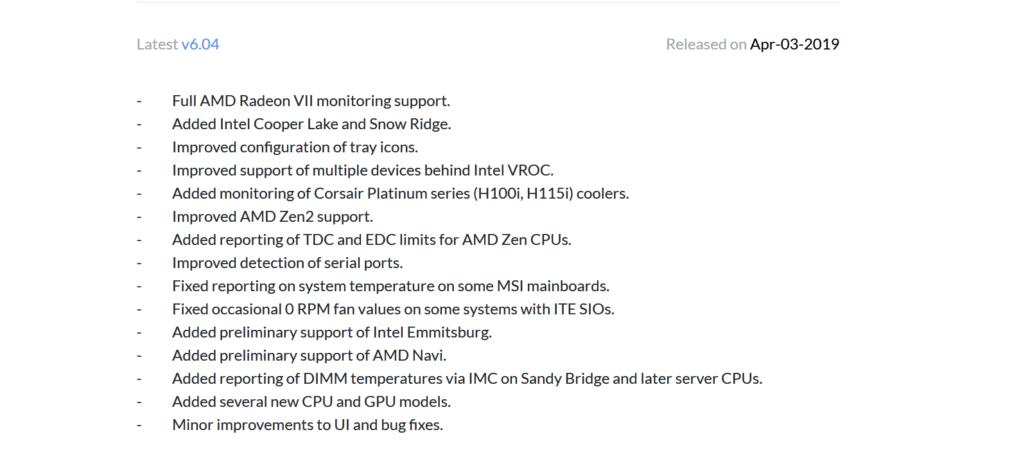 hwinfo amd navi 1030x450 หลุดข้อมูลการ์ดจอ AMD Navi และซีพียู ZEN2 รุ่นใหม่ล่าสุดปรากฏในโปรแกรม HWINFO