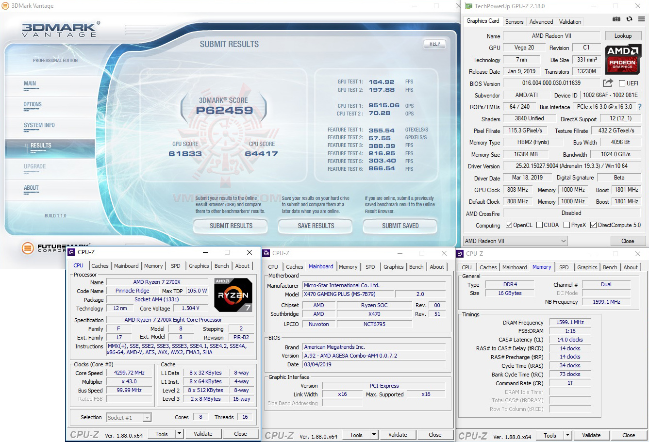 vt MSI X470 GAMING PLUS REVIEW