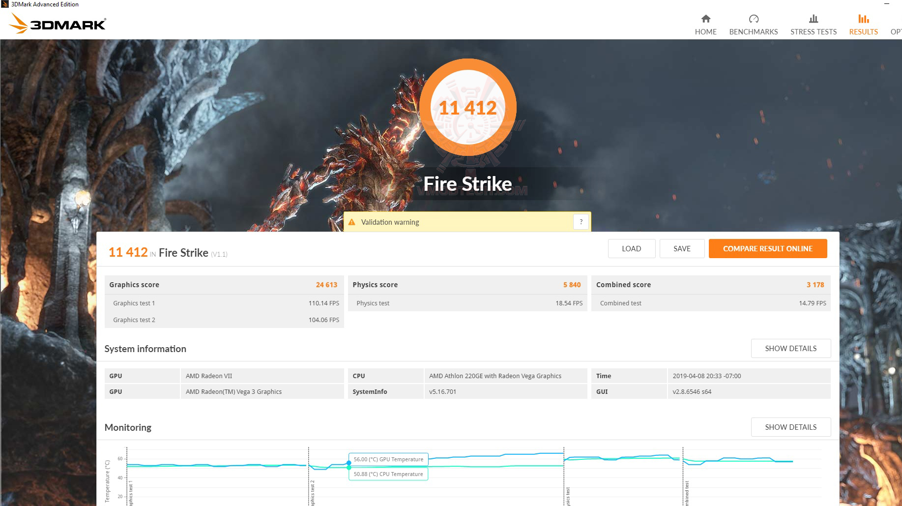 fire vii1 AMD Athlon 220GE Processor with Radeon Vega 3 Graphics Review