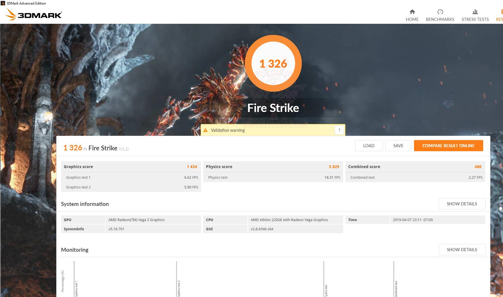 fire AMD Athlon 220GE Processor with Radeon Vega 3 Graphics Review