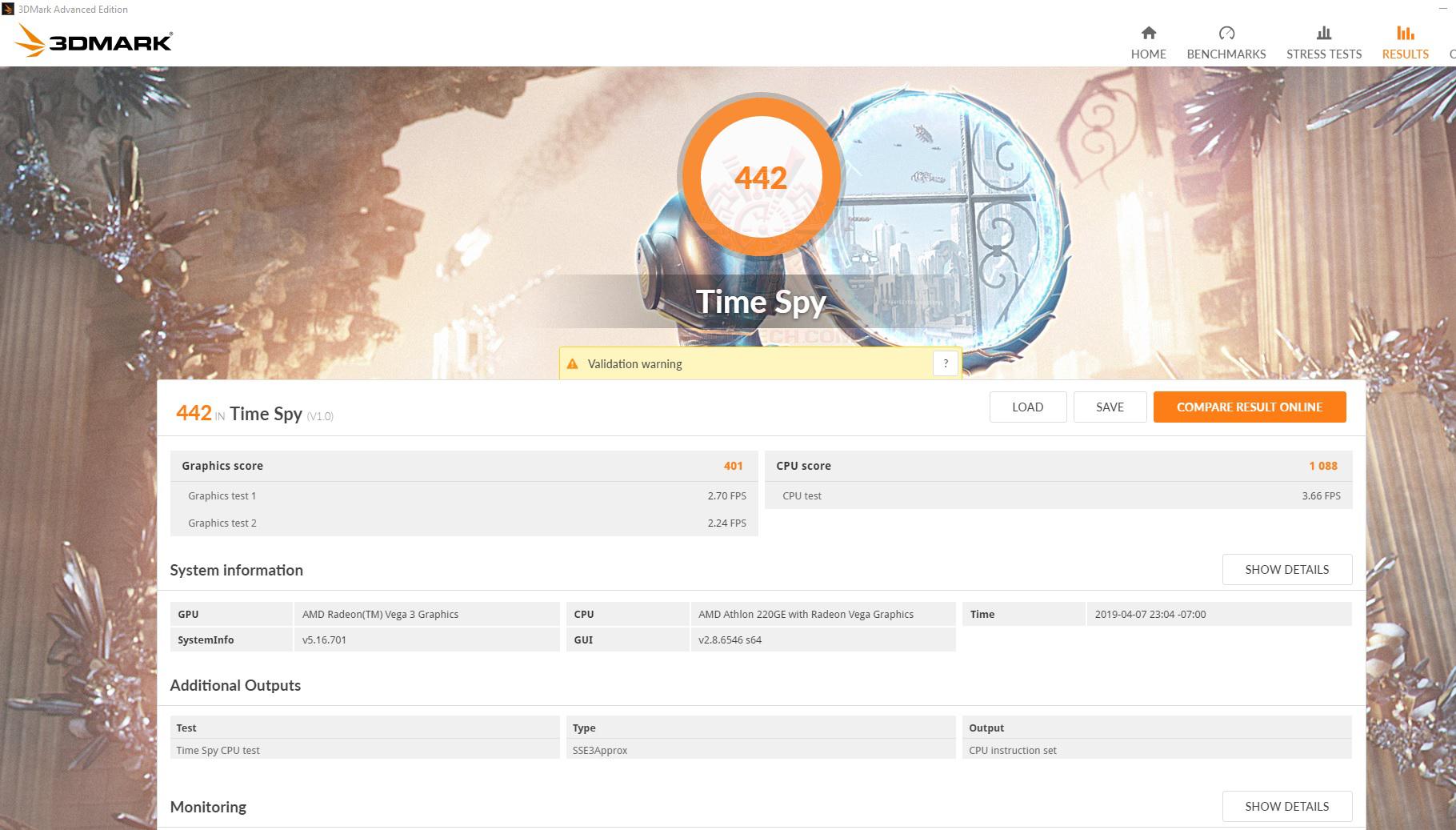 spy AMD Athlon 220GE Processor with Radeon Vega 3 Graphics Review