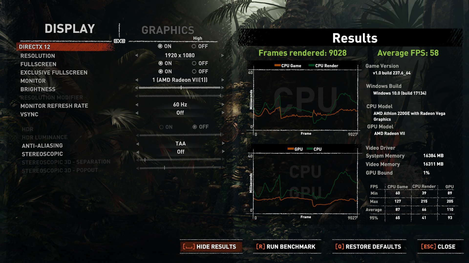 tomb vii AMD Athlon 220GE Processor with Radeon Vega 3 Graphics Review