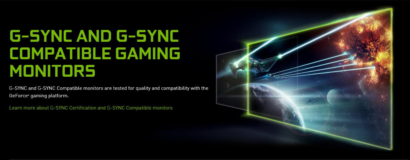 Nvidia ประกาศไดร์เวอร์ใหม่สามารถรองรับระบบ G-SYNC ให้กับจอมอนิเตอร์กว่า 41เปอร์เซ็นและรองรับจอมอนิเตอร์ใหม่เพิ่มอีก 7รุ่น