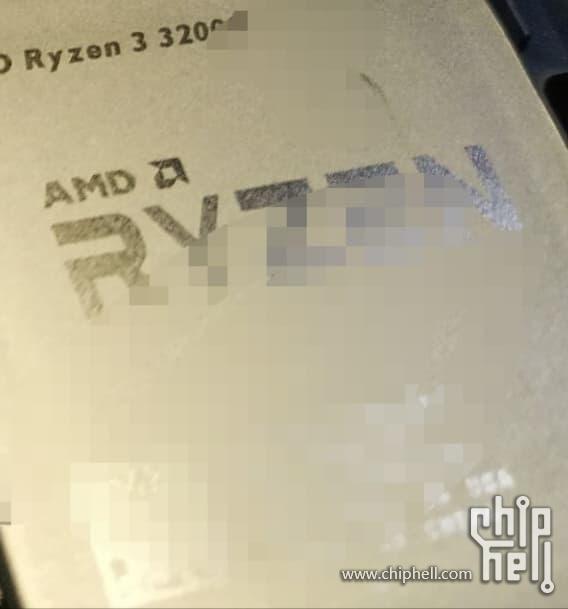 หลุดภาพ AMD Ryzen 3 3200G