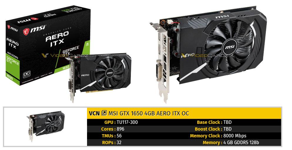 2019 04 22 9 13 10 เผยภาพการ์ดจอ Nvidia GeForce GTX 1650 หลายแบรนด์ก่อนเปิดตัวอย่างเป็นทางการ