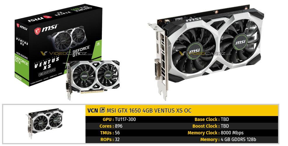 2019 04 22 9 13 19 เผยภาพการ์ดจอ Nvidia GeForce GTX 1650 หลายแบรนด์ก่อนเปิดตัวอย่างเป็นทางการ