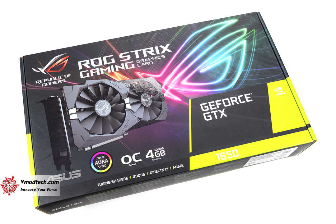 tpp 5297 ASUS GeForce GTX 1650 ROG STRIX Gaming Review