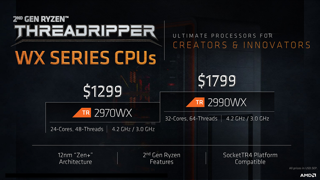 amd ryzen threadripper 2000 series 4 AMD RYZEN THREADRIPPER 2970WX PROCESSOR REVIEW