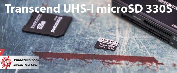 main Transcend UHS I microSD 330S 128GB Review