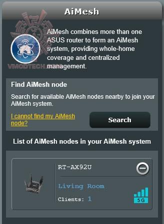 หน้าที่ 1 - AiMesh AX6100 WiFi System (RT-AX92U 2 Pack) Review