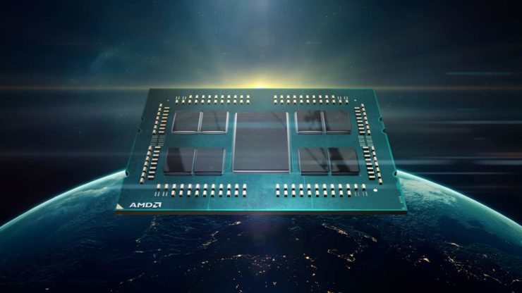 amd epyc rome 740x416 หลุดผลทดสอบที่คาดว่าเป็นซีพียู AMD EPYC Rome ในรหัส ZEN2 ขนาดสถาปัตย์ 7nm ในรุ่น 64 Core และ 32 Core ที่ยังไม่เปิดตัวอย่างเป็นทางการ