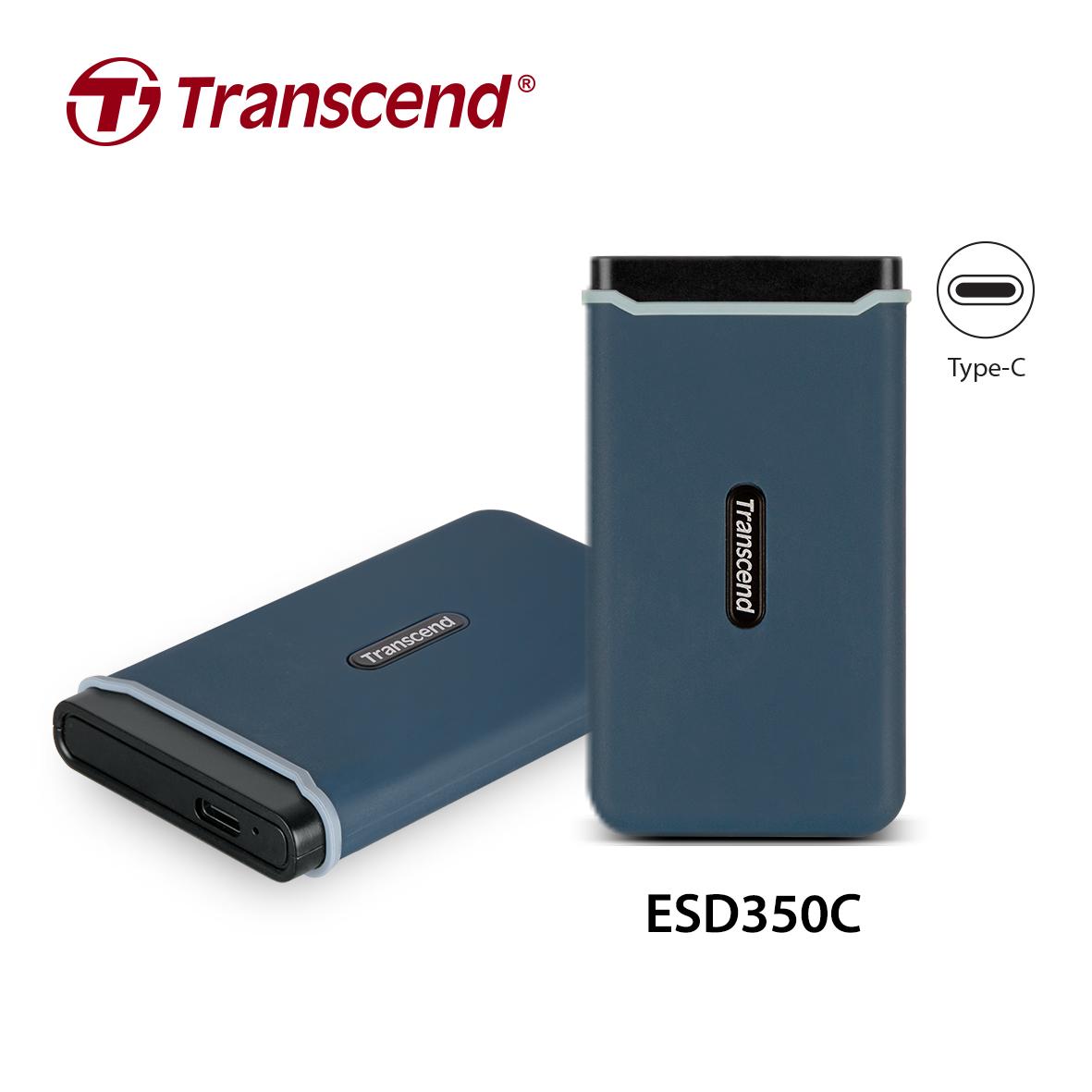 transcend esd350c 1 ทรานส์เซนด์ เปิดตัว SSD แบบพกพา รุ่น ESD350C สำหรับผู้ต้องการความเร็วที่เหนือกว่า