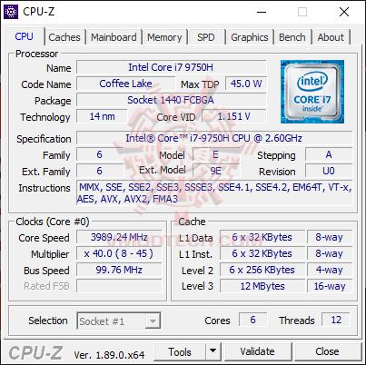 cpu1 MSI GE65 Raider 9SE Review
