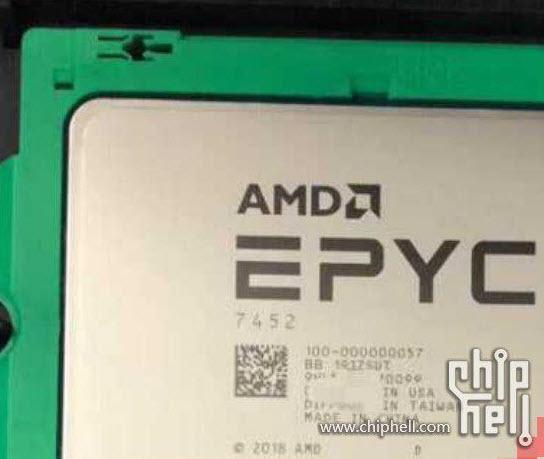 2019 06 19 6 45 11 หลุดผลทดสอบ AMD Epyc 7452 Rome ขนาด 7nm รุ่นใหม่ล่าสุด 32Core 64 Threads 2.35 GHz