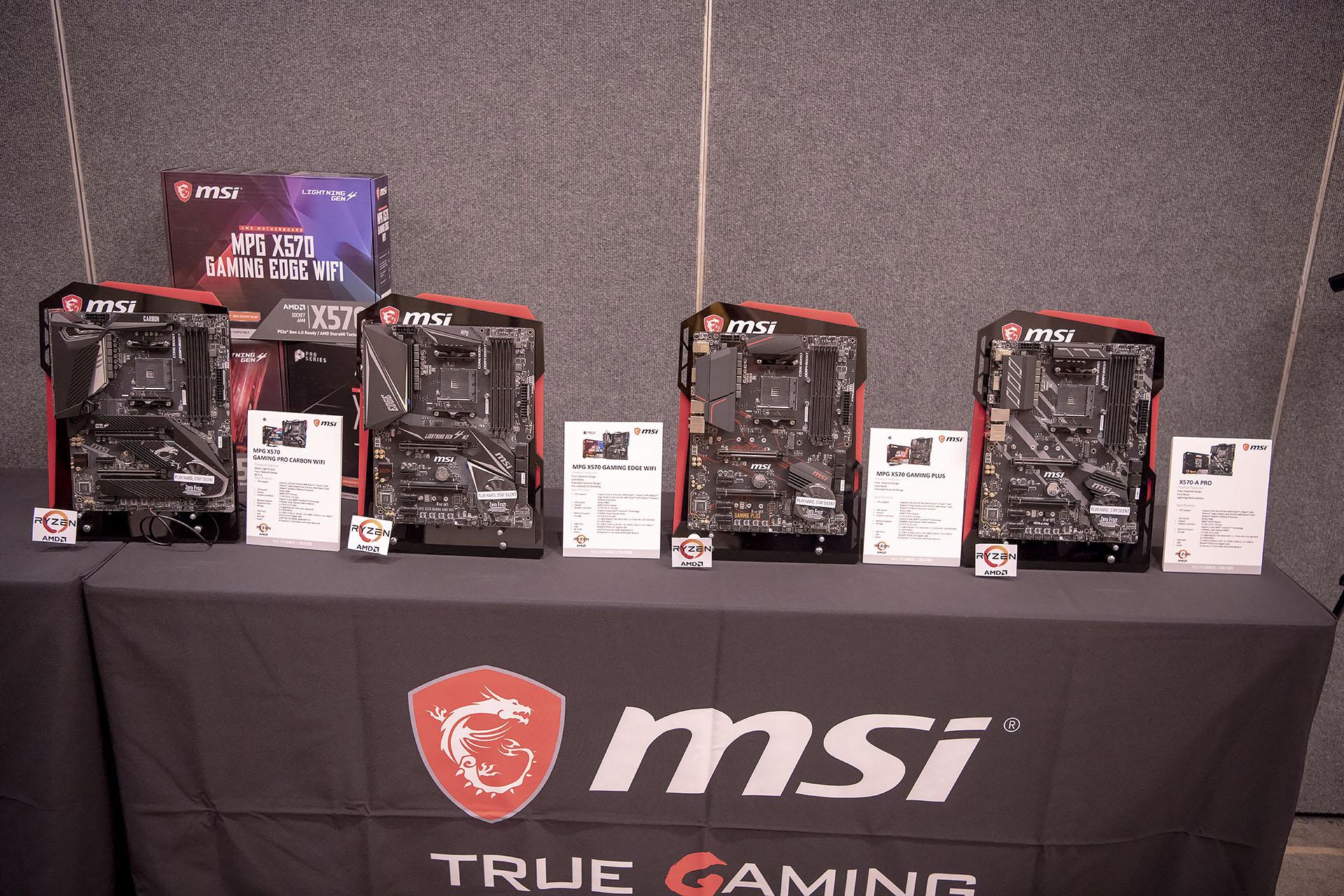dsc 4820 บรรยากาศงาน MSI Indo Pacific X570 Partner Convention พบการเปิดตัวเมนบอร์ด X570 รุ่นใหม่ล่าสุดจากทาง MSI ต้อนรับการมาของซีพียู AMD RYZEN 3000ซีรี่ย์